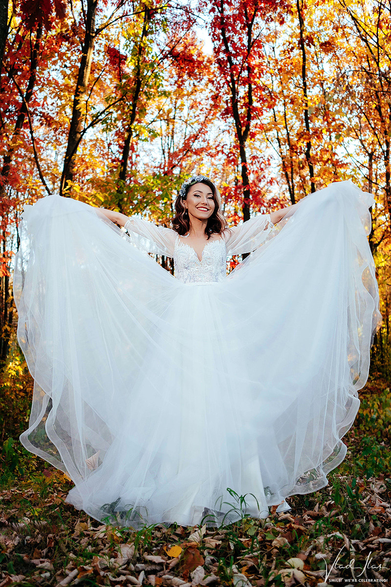 Foto trash the dress nuntă Gura Humorului, Bucovina
